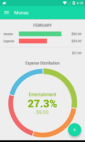 Monas: Expense manager