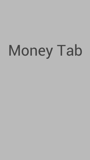 Money Tab
