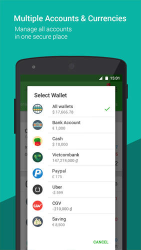 Money Lover: Money Manager app for Android, download programs for phones and tablets for free.