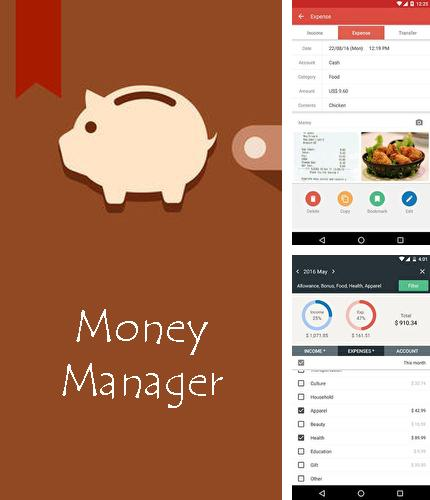Descargar gratis Money Manager: Expense & Budget para Android. Apps para teléfonos y tabletas.