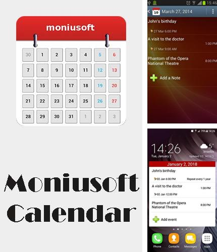 Besides Gravity Box Android program you can download Moniusoft calendar for Android phone or tablet for free.