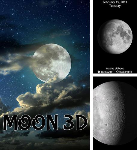 Besides CloudCal calendar agenda Android program you can download Moon 3D for Android phone or tablet for free.