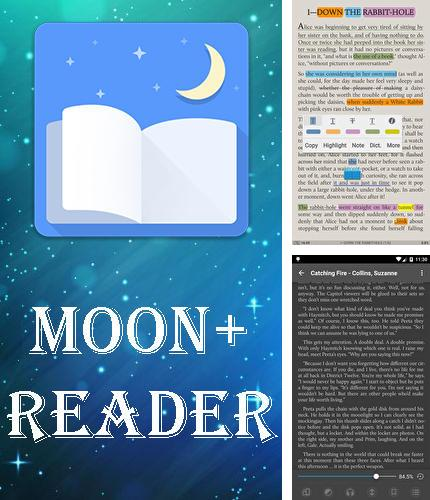 Además del programa Flash player for Android para Android, podrá descargar Moon plus reader para teléfono o tableta Android.