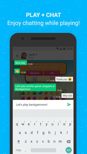 Moove: Play Chat app for Android, download programs for phones and tablets for free.