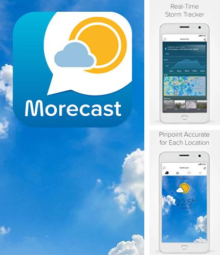 Neben dem Programm OpenTable: Restaurants near me für Android kann kostenlos Morecast - Weather forecast with radar & widget für Android-Smartphones oder Tablets heruntergeladen werden.