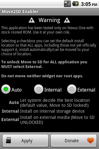 Download Move 2 SD enabler for Android for free. Apps for phones and tablets.