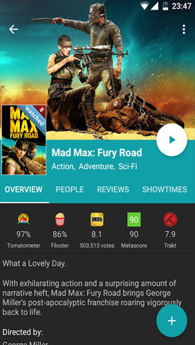 Download Movie Mate for Android for free. Apps for phones and tablets.