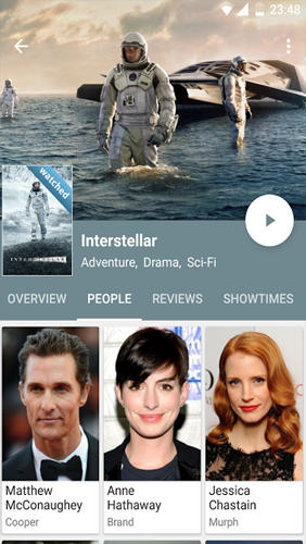 Movie Mate app for Android, download programs for phones and tablets for free.
