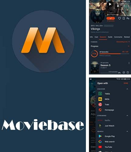 Download Moviebase for Android phones and tablets.
