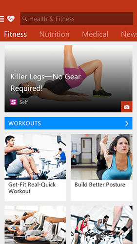 Msn health and fitness