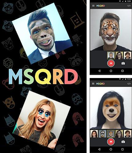 Besides Photo grid - Photo editor, video & photo collage Android program you can download MSQRD for Android phone or tablet for free.