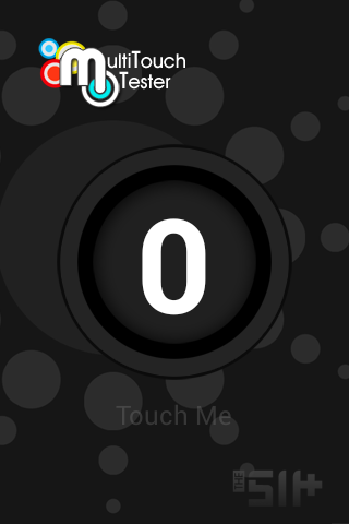 Screenshots of MultiTouch Tester program for Android phone or tablet.