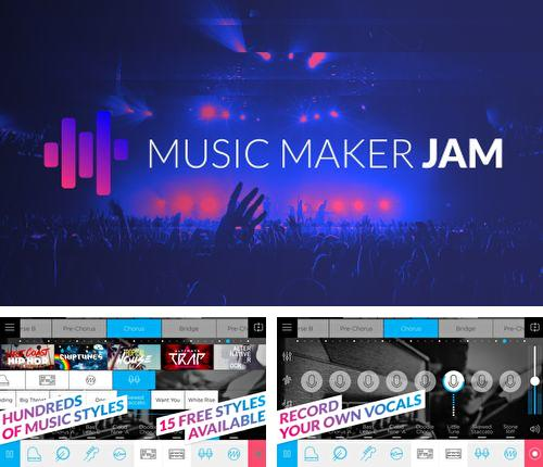 Besides Cornerfly Android program you can download Music maker JAM for Android phone or tablet for free.