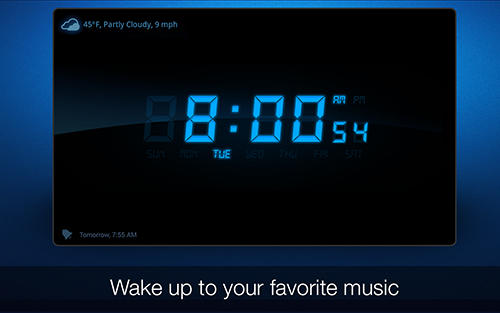 Скріншот програми My alarm clock на Андроїд телефон або планшет.