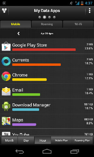 My data manager app for Android, download programs for phones and tablets for free.