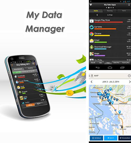Besides Go days calendar Android program you can download My data manager for Android phone or tablet for free.