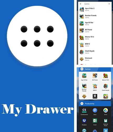 Download My drawer - Smart & organized place for your apps for Android phones and tablets.
