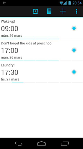 My clock 2 app for Android, download programs for phones and tablets for free.