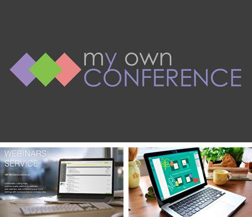 Besides Couchsurfing travel app Android program you can download MyOwnConference for Android phone or tablet for free.