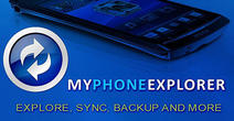 Download My phone explorer for Android - best program for phone and tablet.