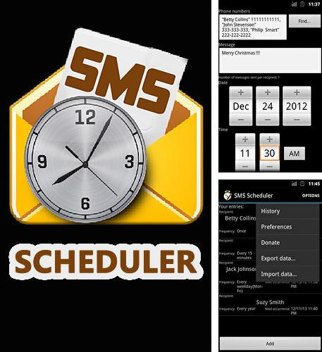 Besides KM Christmas countdown widgets Android program you can download Sms scheduler for Android phone or tablet for free.