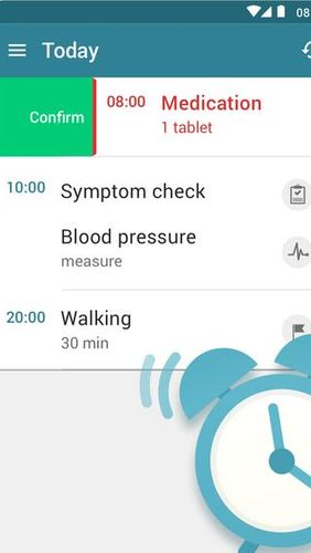 MyTherapy: Medication reminder & Pill tracker app for Android, download programs for phones and tablets for free.