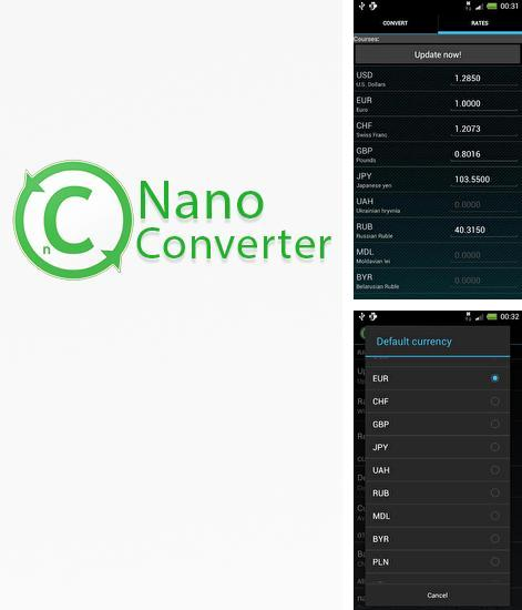 Download Nano Converter for Android phones and tablets.