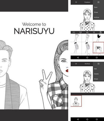 Besides Ringtone maker mp3 cutter Android program you can download Narisuyu for Android phone or tablet for free.