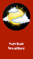 Descargar Navbar weather - Local forecast on navigation bar para Android - el mejor programa en el teléfono y la tableta.