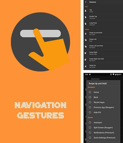 Download Navigation gestures for Android phones and tablets.