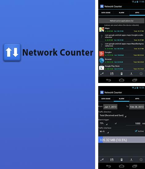Besides Team drive Android program you can download Network Counter for Android phone or tablet for free.