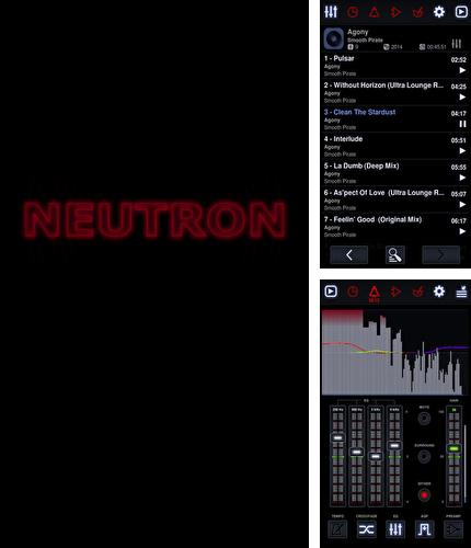 Besides Audiobooks from Audible Android program you can download Neutron: Music Player for Android phone or tablet for free.