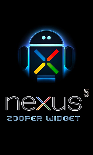 Nexus 5 zooper widget for Android – download for free