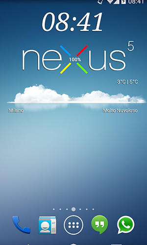 Download Nexus 5 zooper widget for Android for free. Apps for phones and tablets.