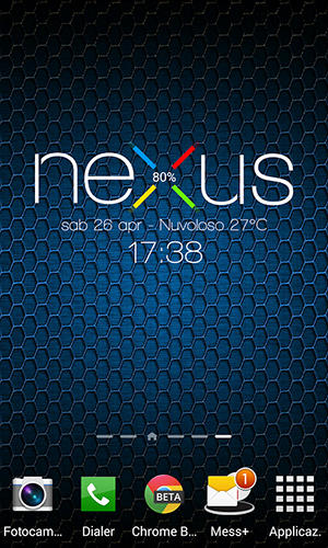 Nexus 5 zooper widget app for Android, download programs for phones and tablets for free.