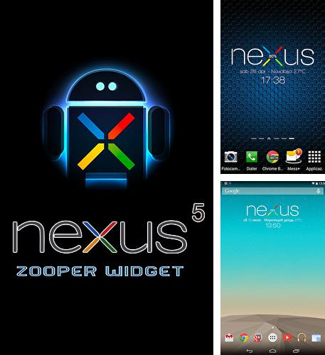 Besides Text Drive: No Texting While Driving Android program you can download Nexus 5 zooper widget for Android phone or tablet for free.