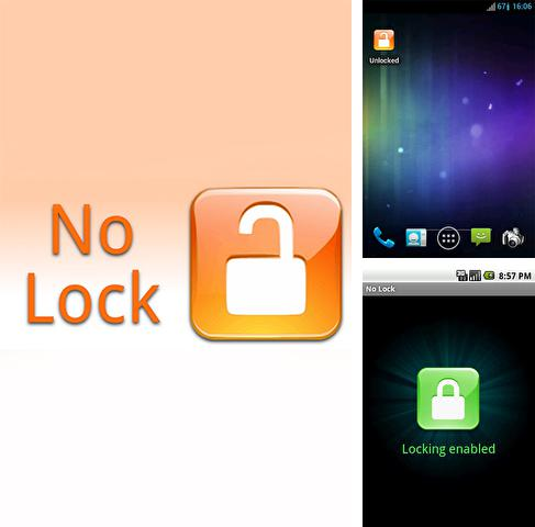Besides Total Launcher Android program you can download No lock for Android phone or tablet for free.