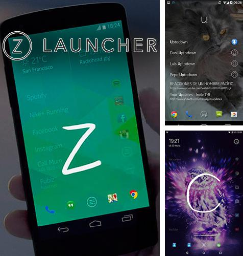 Download Z launcher for Android phones and tablets.
