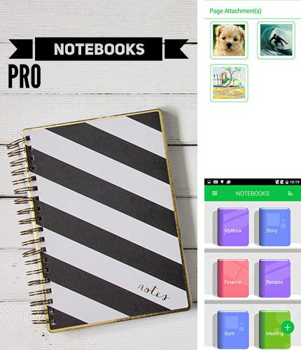Download Notebooks pro for Android phones and tablets.