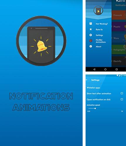 Download Notification animations for Android phones and tablets.