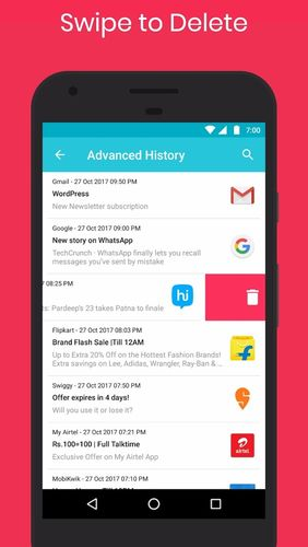 Download Notification history log for Android for free. Apps for phones and tablets.