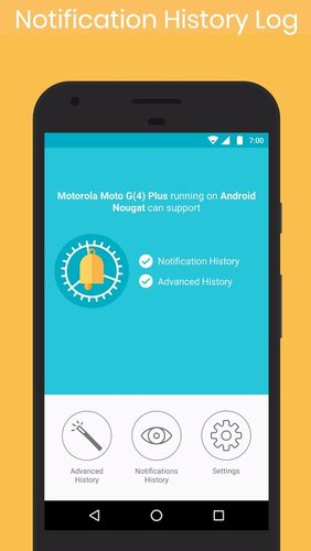 Notification history log app for Android, download programs for phones and tablets for free.