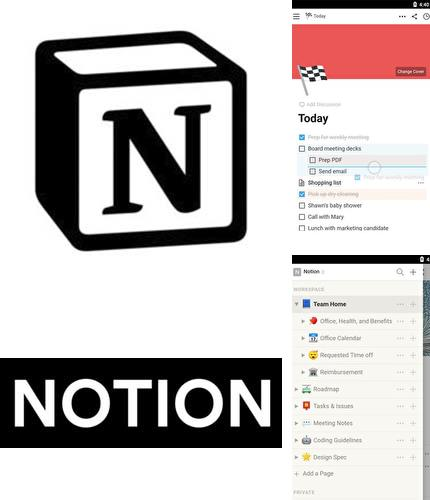 Descargar gratis Notion - Notes, tasks, wikis para Android. Apps para teléfonos y tabletas.