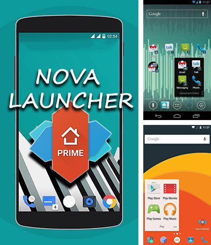 Besides Retro music player Android program you can download Nova Launcher for Android phone or tablet for free.