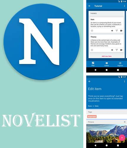 Descargar gratis Novelist - Write your novels para Android. Apps para teléfonos y tabletas.