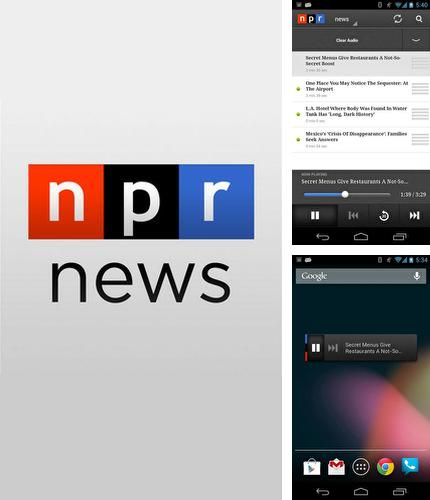 Besides Memoria photo gallery Android program you can download NPR News for Android phone or tablet for free.