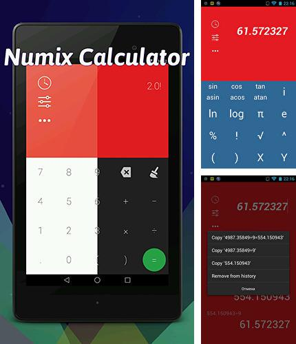 Download Numix calculator for Android phones and tablets.