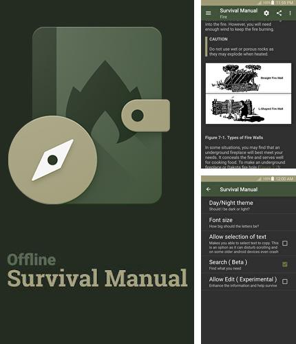 Besides PowerAudio: Music Player Android program you can download Offline survival manual for Android phone or tablet for free.