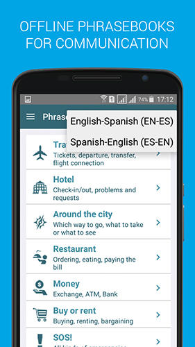 Offline translator app for Android, download programs for phones and tablets for free.
