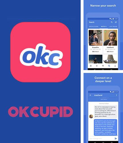 Besides XOS - Launcher, theme, wallpaper Android program you can download OkCupid dating for Android phone or tablet for free.